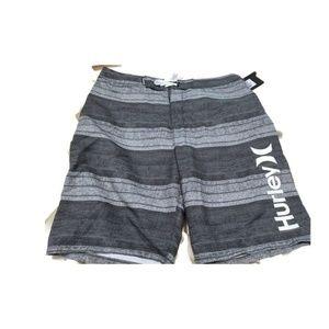 Hurley NEW Novamatic Grey Mens Shorts 32